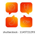 medical mirror  tablet and... | Shutterstock .eps vector #1145721293