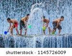bali  indonesia  june 2  2014 ... | Shutterstock . vector #1145726009
