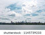 manhattan midtown and downtown...   Shutterstock . vector #1145739233