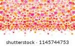 autumn leaves autumn background | Shutterstock .eps vector #1145744753
