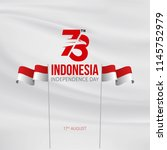 indonesia independence day... | Shutterstock .eps vector #1145752979