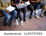 back to school education... | Shutterstock . vector #1145757053