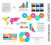 infographic elements data... | Shutterstock .eps vector #1145762693