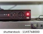 working digital video recorder... | Shutterstock . vector #1145768000