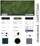 dark blue  green vector style...