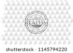 realism grey badge with... | Shutterstock .eps vector #1145794220