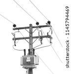 industry transformer background   Shutterstock . vector #1145794469