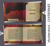 colorful musical iillustration. ... | Shutterstock .eps vector #1145808683