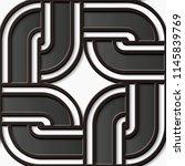seamless relief sculpture... | Shutterstock .eps vector #1145839769
