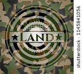 land on camouflage texture | Shutterstock .eps vector #1145841056