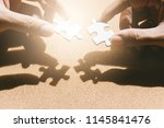 business solutions and success... | Shutterstock . vector #1145841476