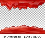 jam flow seamless vector... | Shutterstock .eps vector #1145848700