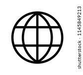 internet icon vector icon.... | Shutterstock .eps vector #1145849213