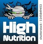 high nutrition  beautiful... | Shutterstock .eps vector #1145849453