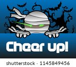 cheer up  beautiful greeting... | Shutterstock .eps vector #1145849456