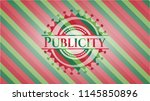 publicity christmas style badge.... | Shutterstock .eps vector #1145850896