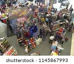 kuala lumpur  malaysia   july... | Shutterstock . vector #1145867993