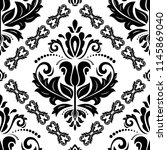 orient vector classic black and ...   Shutterstock .eps vector #1145869040