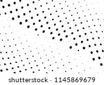 abstract halftone wave dotted... | Shutterstock .eps vector #1145869679
