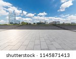 panoramic skyline and modern... | Shutterstock . vector #1145871413