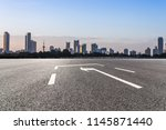 panoramic skyline and modern... | Shutterstock . vector #1145871440