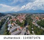panorama view of kranj ... | Shutterstock . vector #1145871476