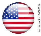 united state of america flag on ... | Shutterstock .eps vector #114588514