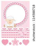 Baby Sheep Pink Scrapbook...