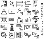 set of 25 icons such as graphic ...