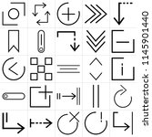 set of 25 icons such as shrink  ...