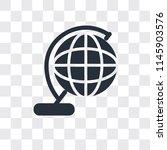 worldwide vector icon isolated... | Shutterstock .eps vector #1145903576