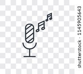 radio microphone vector icon...