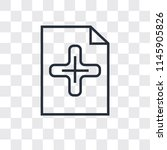 add new document vector icon...   Shutterstock .eps vector #1145905826