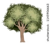 tree painted watercolor style | Shutterstock .eps vector #1145906663