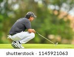 shiv kapur of indi  in action... | Shutterstock . vector #1145921063