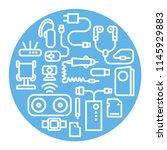 illustration of concept... | Shutterstock . vector #1145929883