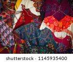 native costume  lake atitlan... | Shutterstock . vector #1145935400