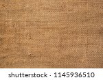 brown sackcloth texture. or... | Shutterstock . vector #1145936510