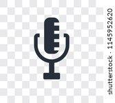 radio microphone vector icon...
