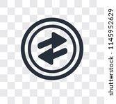 o arrow vector icon isolated on ...