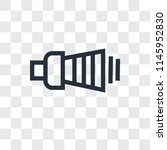 volume vector icon isolated on... | Shutterstock .eps vector #1145952830