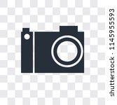 photograph camera vector icon... | Shutterstock .eps vector #1145955593