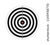 score target for shooting... | Shutterstock .eps vector #1145958770