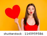 i'm waiting for your kiss ... | Shutterstock . vector #1145959586