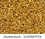 golden stones luxury texture...   Shutterstock . vector #1145987576