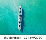 aerial drone view of old... | Shutterstock . vector #1145992790