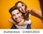 image of caucasian couple... | Shutterstock . vector #1146012023