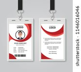 creative office identity card... | Shutterstock .eps vector #1146016046