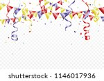 celebration background with... | Shutterstock .eps vector #1146017936