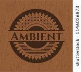 ambient wood signboards | Shutterstock .eps vector #1146026873